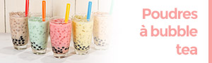 poudres bubble tea