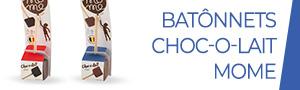 Bâtonnets de chocolat Choc-o-lait MoMe