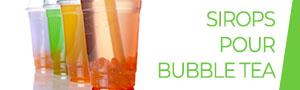 Sirops Bubble Tea