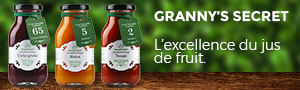 Jus de fruit granny's secret