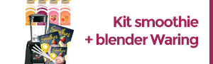Kit smoothie + blender waring